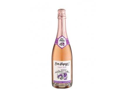 pinot noir rose nealkoholicke sumive vino bon voyage 0 75 l