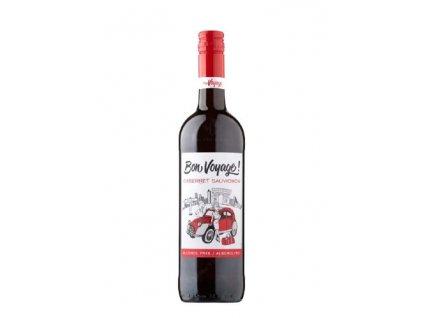 cabernet sauvignon nealkoholicke vino bon voyage 0 75 l