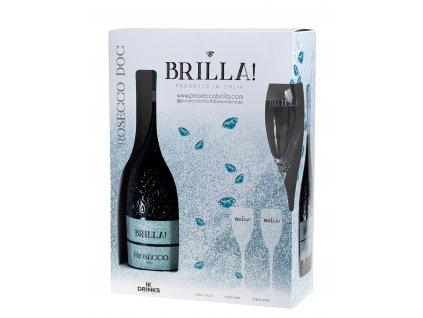 Brilla Prosecco kazeta Extra Dry