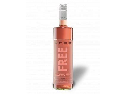 bree bree free rose alcohol free rose wine 075l