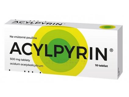 acylpyrin 500 mg 10 tabliet ilieky