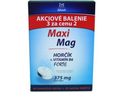 zdrovit maximag horcik b6 forte 375 mg 60 sumivych tabliet ilieky