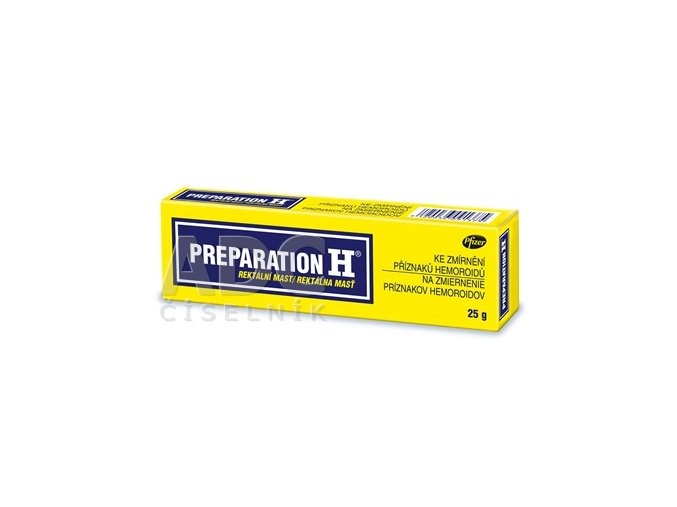 preparation h mast 25g ks ilieky