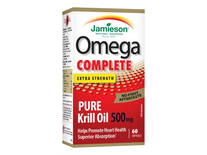 Jamieson Omega Complete Pure Krill 500mg 60cps 64642078438