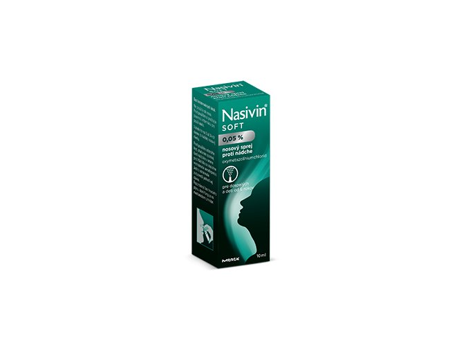 nasivin nosny spray soft 0,05 10 ml ilieky