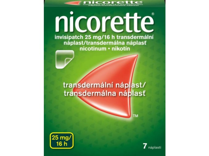 5167 nicorette invisipatch 25mg 16h 7 naplasti ilieky