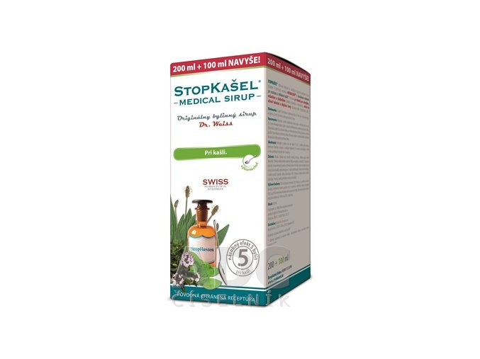 9882 dr.weiss stopkasel sirup 300ml ilieky