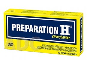 preparation h capiky 12 ks ilieky