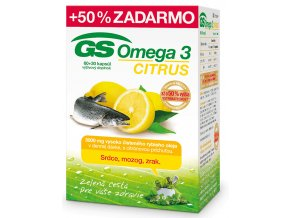 11205 gs omega 3 citrus 60+30 tabliet ilieky