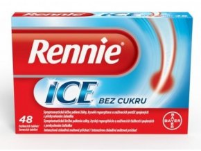 rennie ice pastilky 48 tabliet ilieky