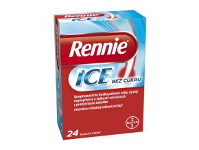 rennie ice pastilky 24 tabliet ilieky