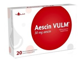 vulm aescin 20 tabliet 30mg ilieky