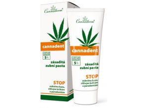 cannaderm cannadent osetrujuca zasadita zubna pasta 75 ml ilieky