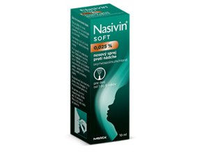 nasivin nosny spray soft 0,025 10 ml ilieky