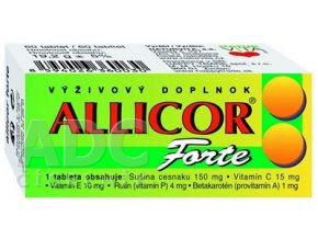 allicor forte ilieky