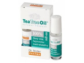 18809 tea tree oil roll on 4ml dr muller 100% cajovnikovy olej ilieky