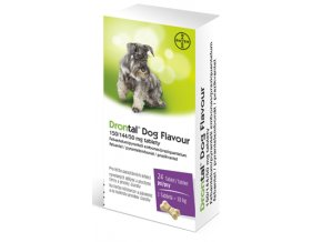 19134 drontal dog flavour 50 144 50mg 2 tablety ilieky