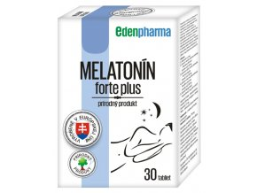 22370 edenpharma melatonin forte plus 30 tabliet ilieky