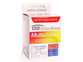 24974 gs multivitamin extra strong 60+60 ilieky