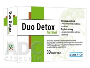 25003 generica duo detox herbal 30 tabliet ilieky