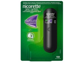 nicorette spray 1mg davka 13,2ml mata ilieky