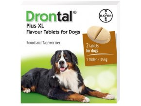 7704 drontal dog flavour xl 525 504 175mg ilieky