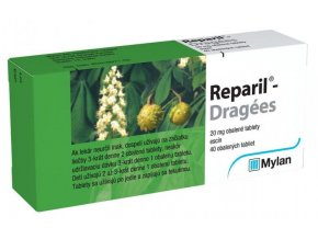 reparil dragees draže 40 tabliet ilieky