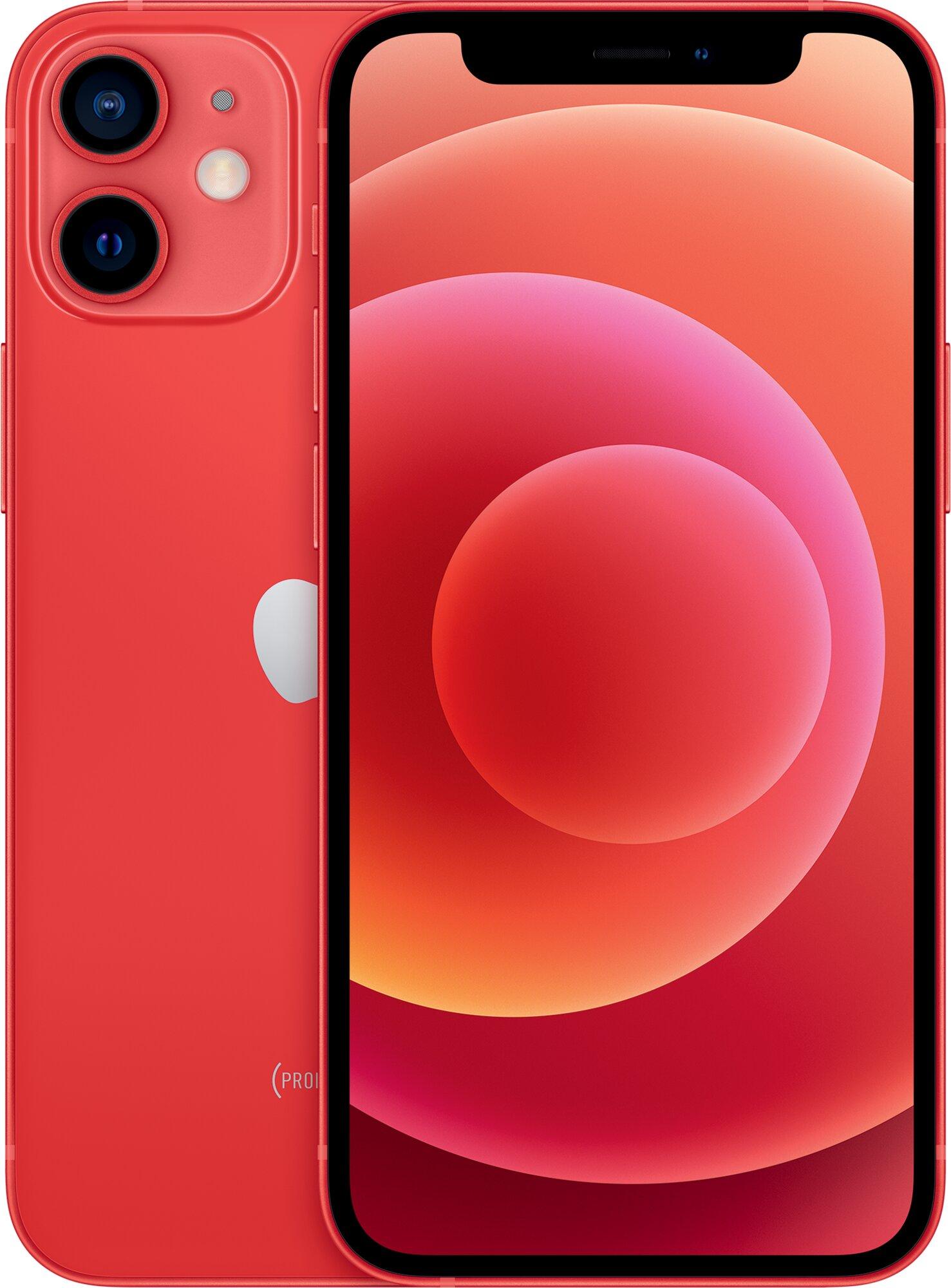iPhone 12 mini 64GB červený