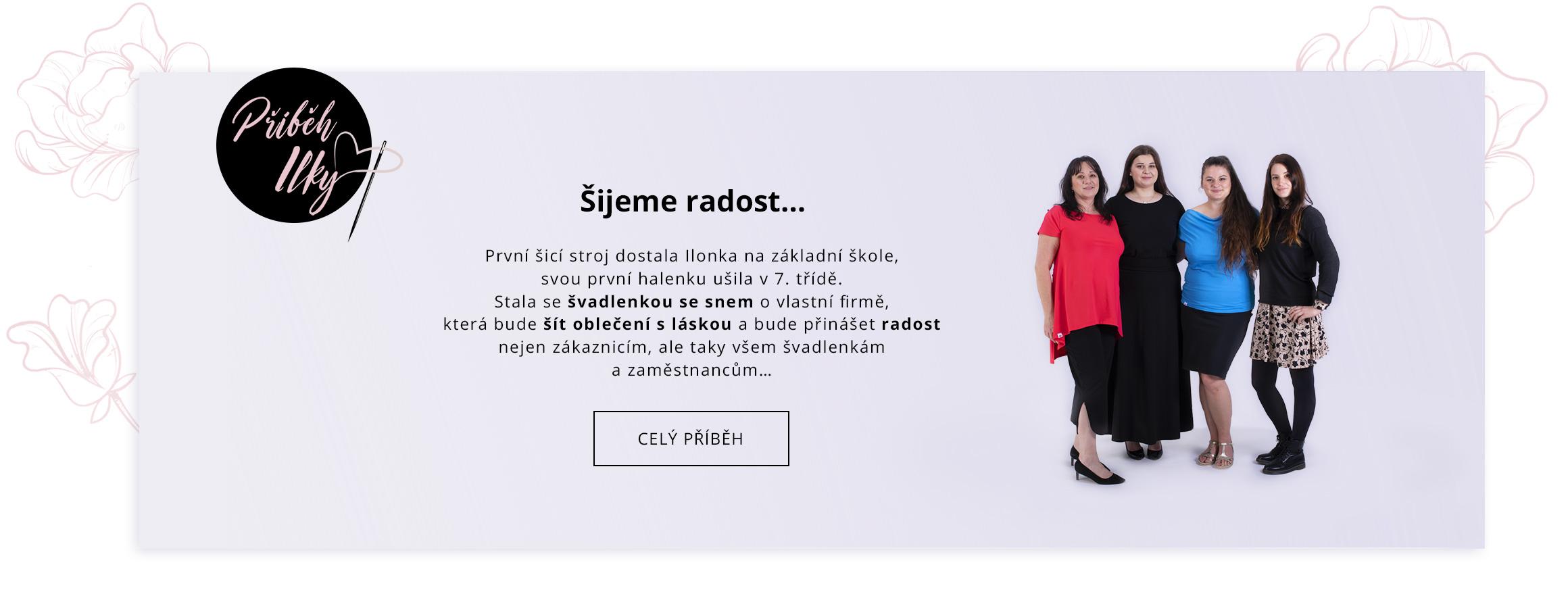 Příběh Ilka fashion