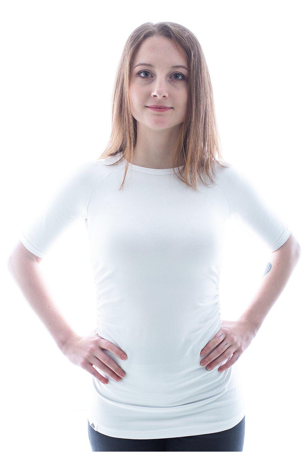 "Bílé tričko ""Raglán"""