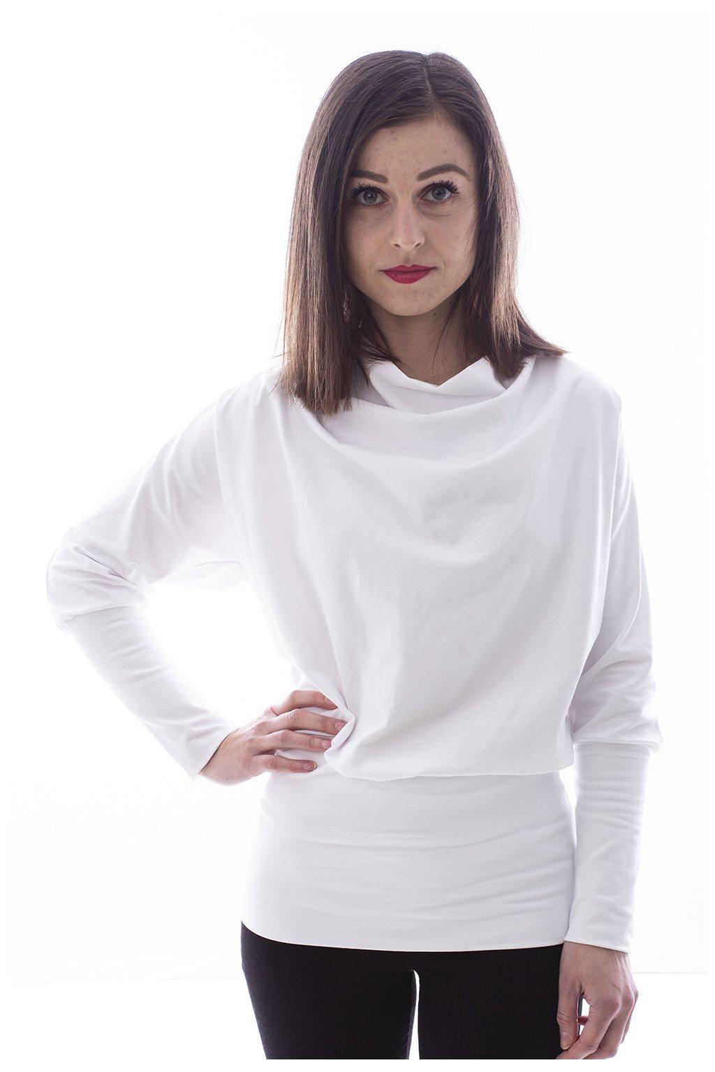 """Bílé tričko """"Netopýr"""""""