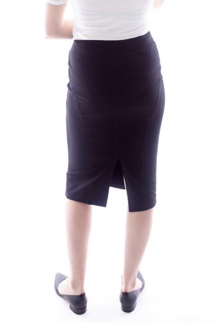 Černá pouzdrová sukně - dlouhá