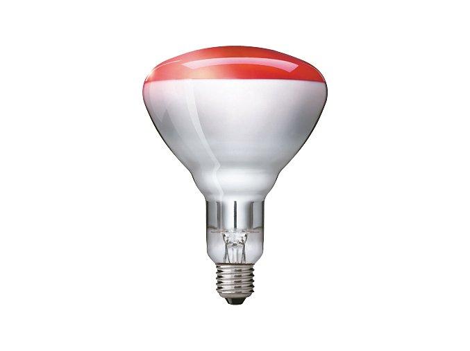 Zdravotní infra zářič Philips 250W E27 RED