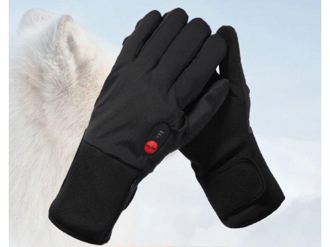 Vyhřívané sportovní rukavice SAVIOR 7,4V 4400mAh (Velikost L)