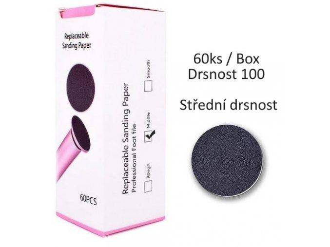 3418 nahradni brusne papiry pro elektricky rotacni pilnik 100