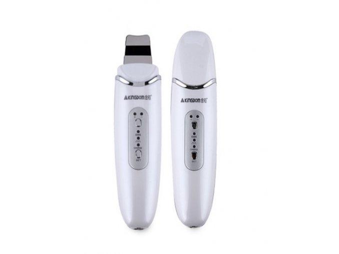 Ultrazvuková špachtle na čištění pleti s EMS Ilwy 8022 (Barva Růžová)