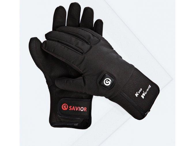 Vyhřívané sportovní rukavice SAVIOR 7,4V 4400mAh (Velikost XXL)
