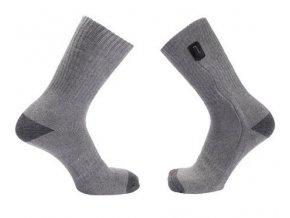 Vyhřívané ponožky USB-HEAT pro Power bank (Barva Černá)