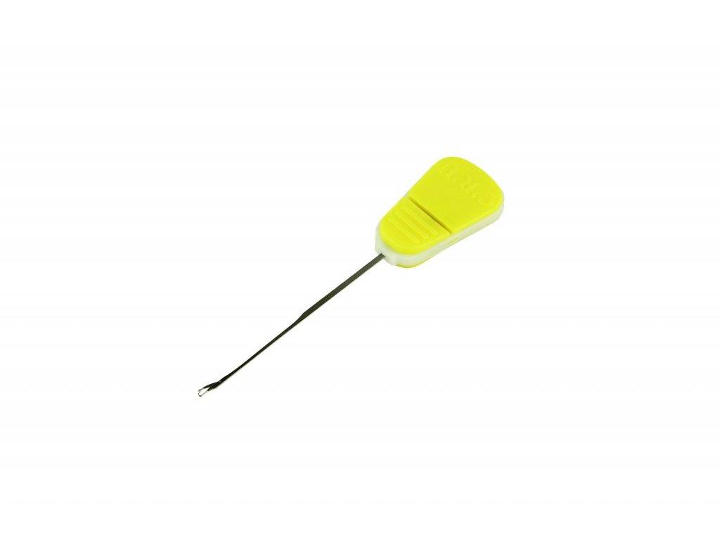 Boilie jehla CRU/Baiting needle – Splicing fine needle – Yellow