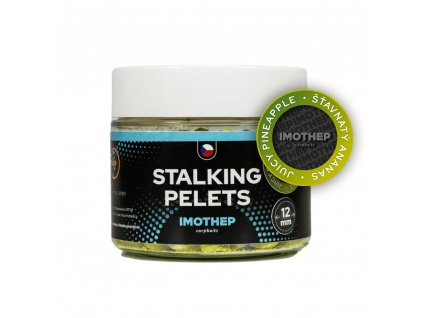 Chytacie pelety STALKING - PINEAPPLE ANANÁS 12mm 150g