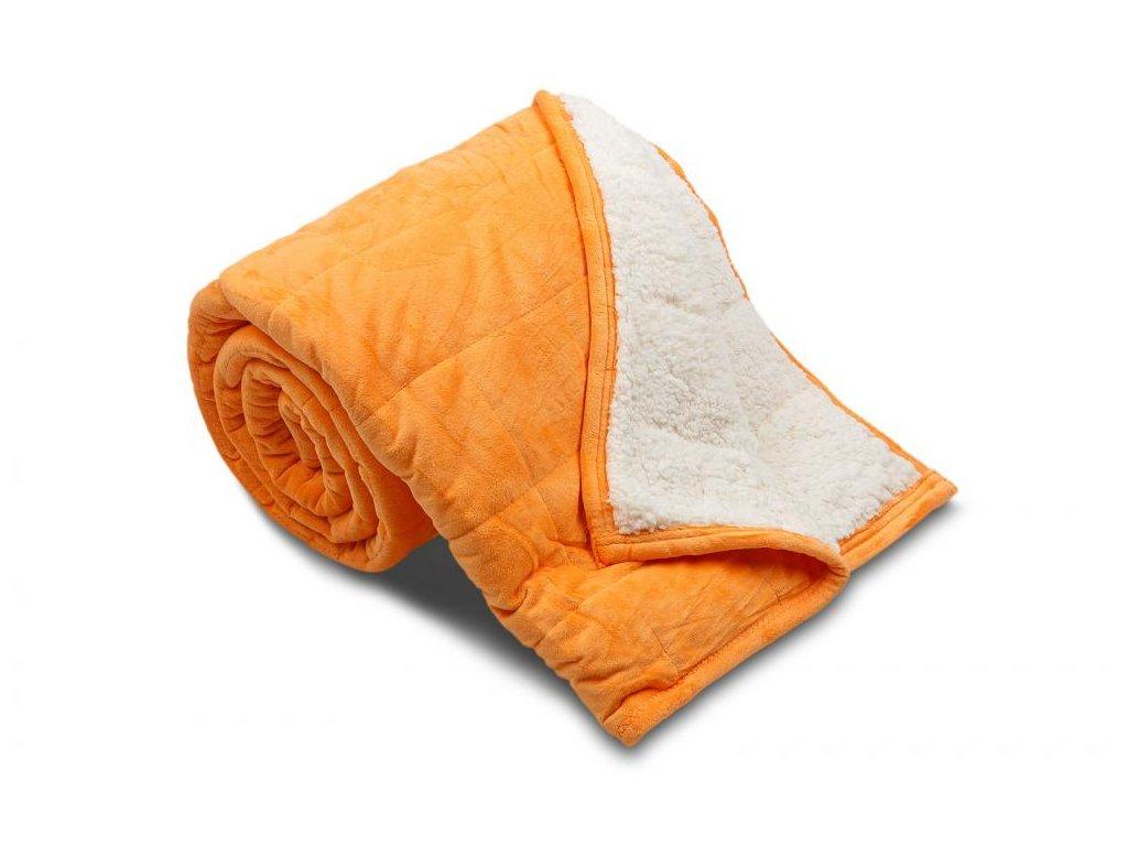 deka ovečka oranžová
