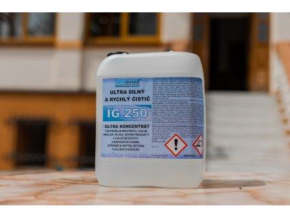 Extra silný odmašťovač a čistič oleje a mastnot - ultra koncentrát -IG 250