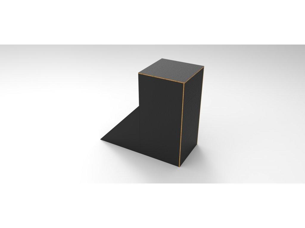 Wall box čtverec s náběhem 1