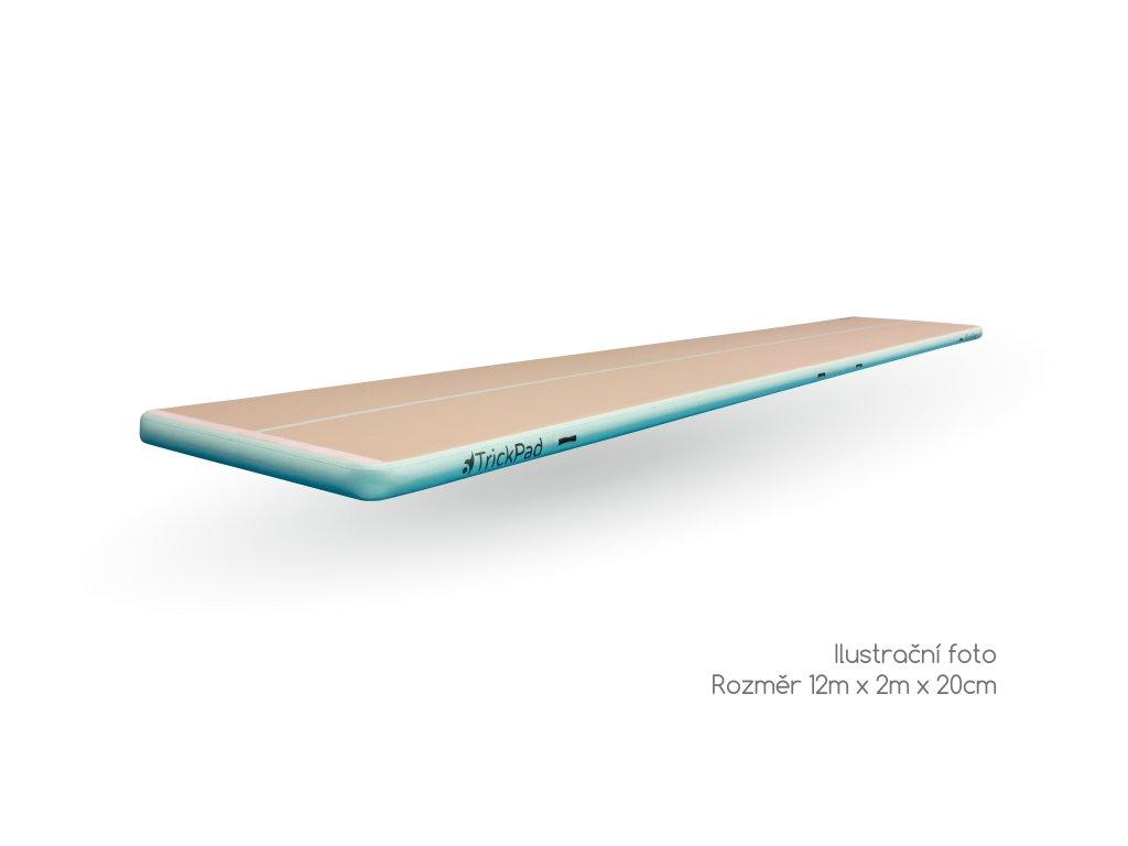 Airtrack TrickPad 12m x 2m x 20cm stin a popis