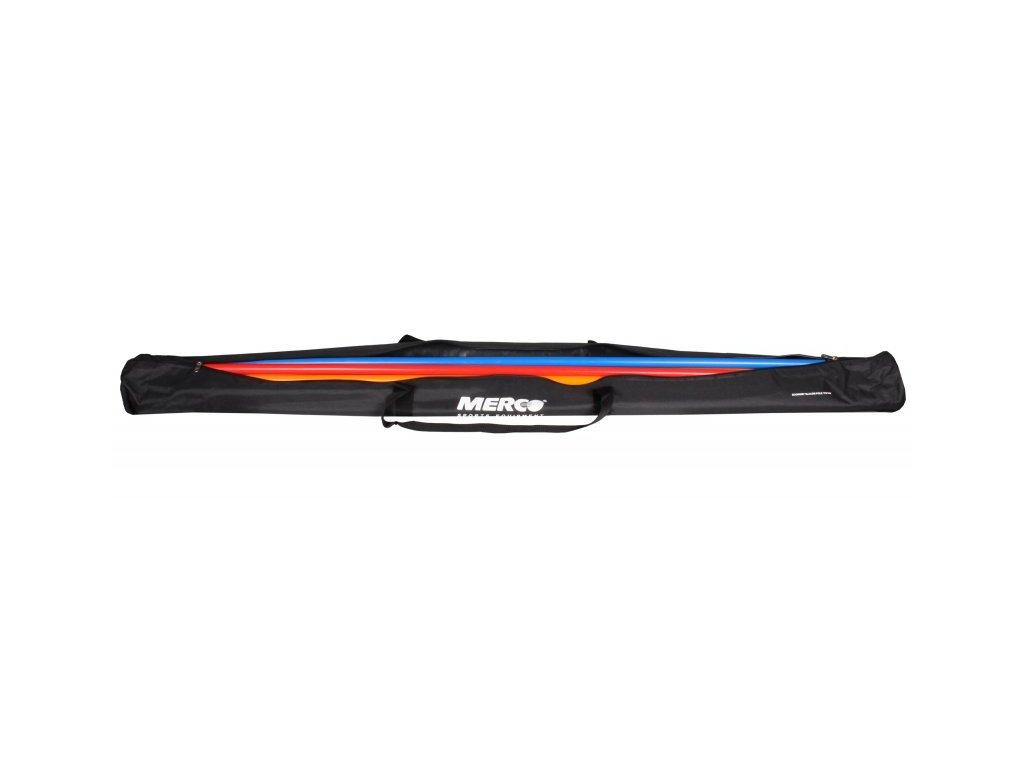 12x tyč slalomová Economy s bodcem včetně tašky