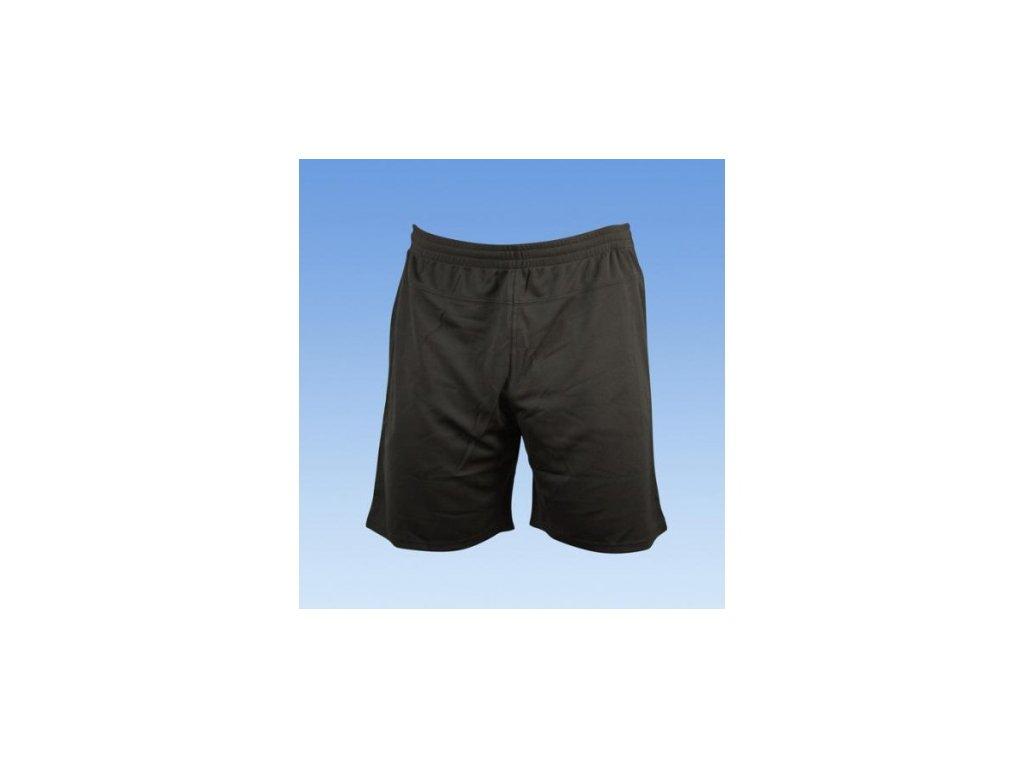 Fotbalové šortky bez loga - černá