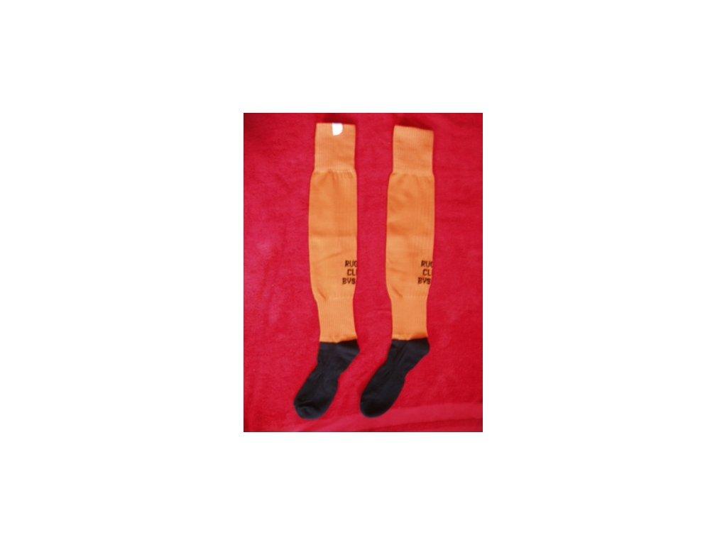 TOP štulpny fotbalové SPANDEX s ponožkou a logem