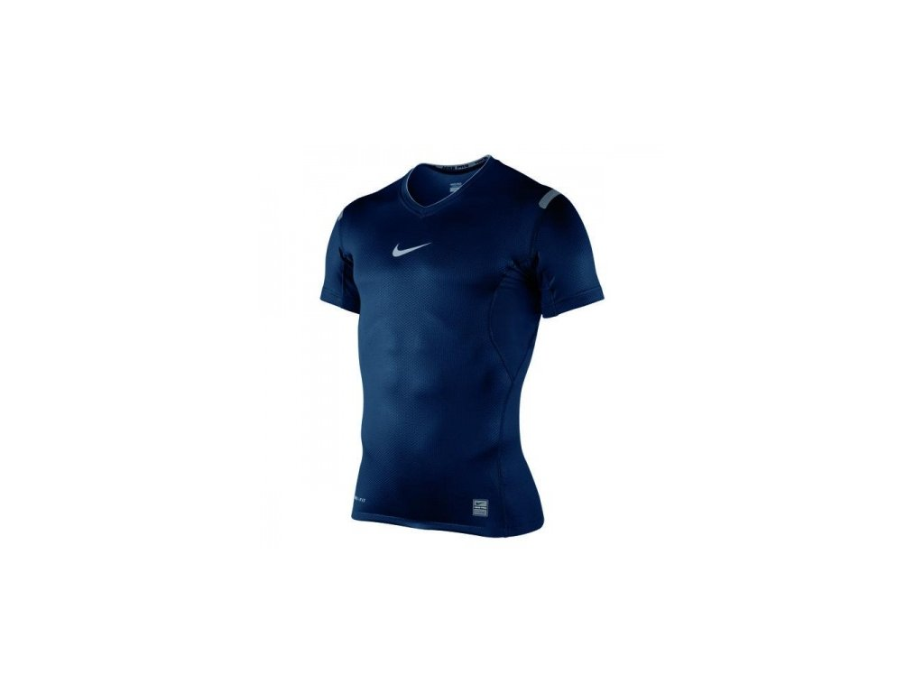 Thermo triko Nike PRO VAPOR SS V-NECK TOP 359251 475