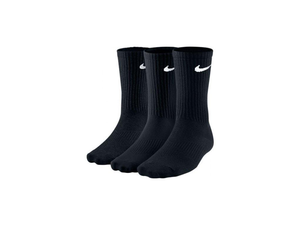 Ponožky Nike 3PPK LIGHTWEIGHT CREW SX4704 001