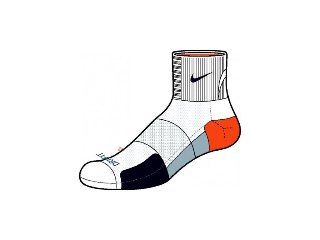 Ponožky Nike NEW NIKE ELITE RUNNING QT SMLX SX3606 149